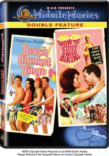 DVD : Beach Blanket Bingo / How to Stuff a Wild Bikini (DVD)