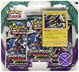 Pokemon TCG Sun & Moon-Guardians Rising Three-Booster Blister Card Game