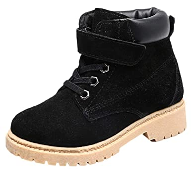 Winter Boots Kids Boots Warm Snow Boots Boys Girls Martin Boots