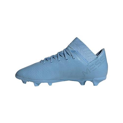 adidas Nemeziz Messi 18.3 FG J, Botas de fútbol Unisex Adulto, Azul Azucen/Grinat 0, 38 2/3 EU: Amazon.es: Zapatos y complementos