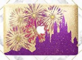 gold bar display case - Purple Magic Castle Gold Rose Gold Hard Plastic Glitter Case Cover For Apple Macbook Air 11 13 Macbook 12 Macbook Pro 13 15 Inch 2016 2017 With Retina Display Touch Bar