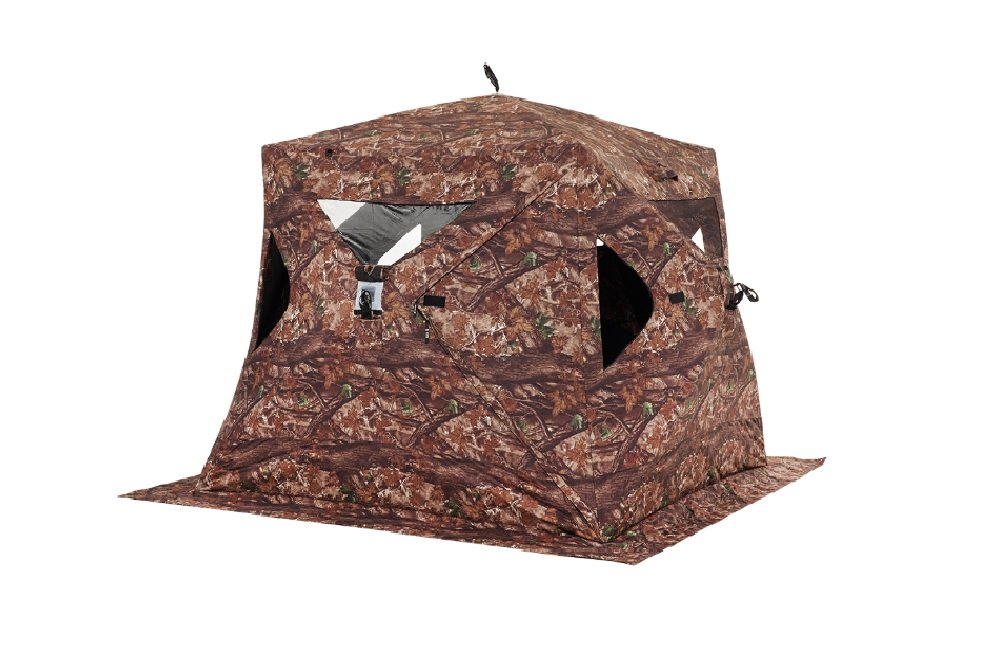 Clam Outdoors 10137 Big Foot XL2000T Camo Sportsman Hub Shelter by Clam Outdoors
