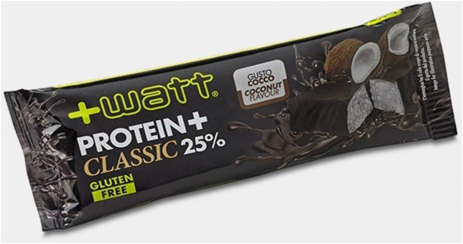 WATT - Proteína + Classic - Barritas de proteínas (24 x 40 g ...