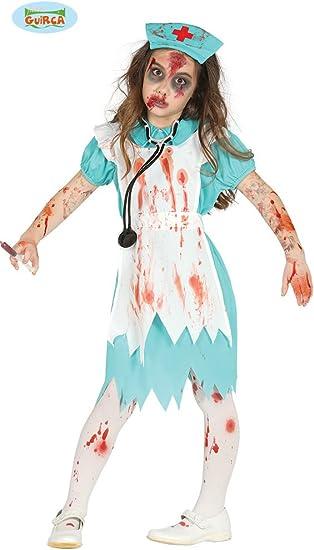 Disfraz de Enfermera Zombie para niña: Amazon.es: Juguetes y juegos