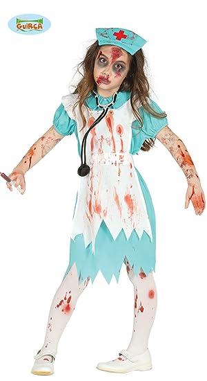 Disfraz de Enfermera Zombie para niña: Amazon.es: Juguetes y ...
