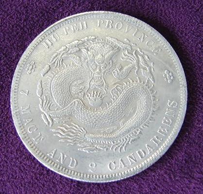 Feng Shui importación monedas de plata chino Dragón de Plata ...