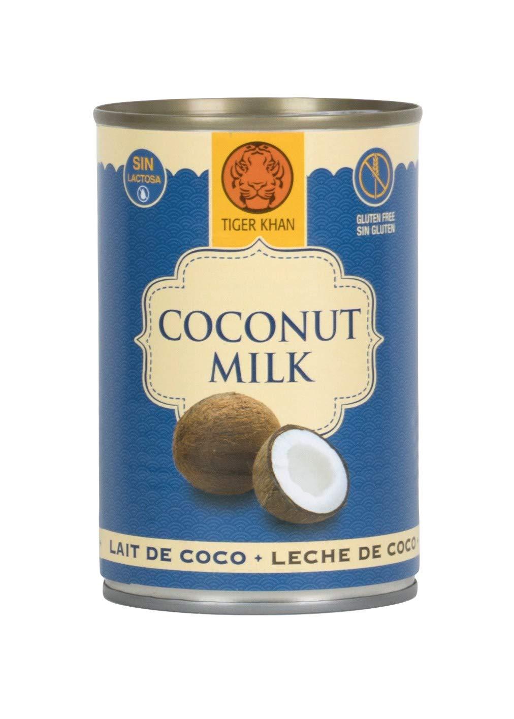 Tiger Khan Leche de Coco - 400 ml: Amazon.es: Alimentación y bebidas