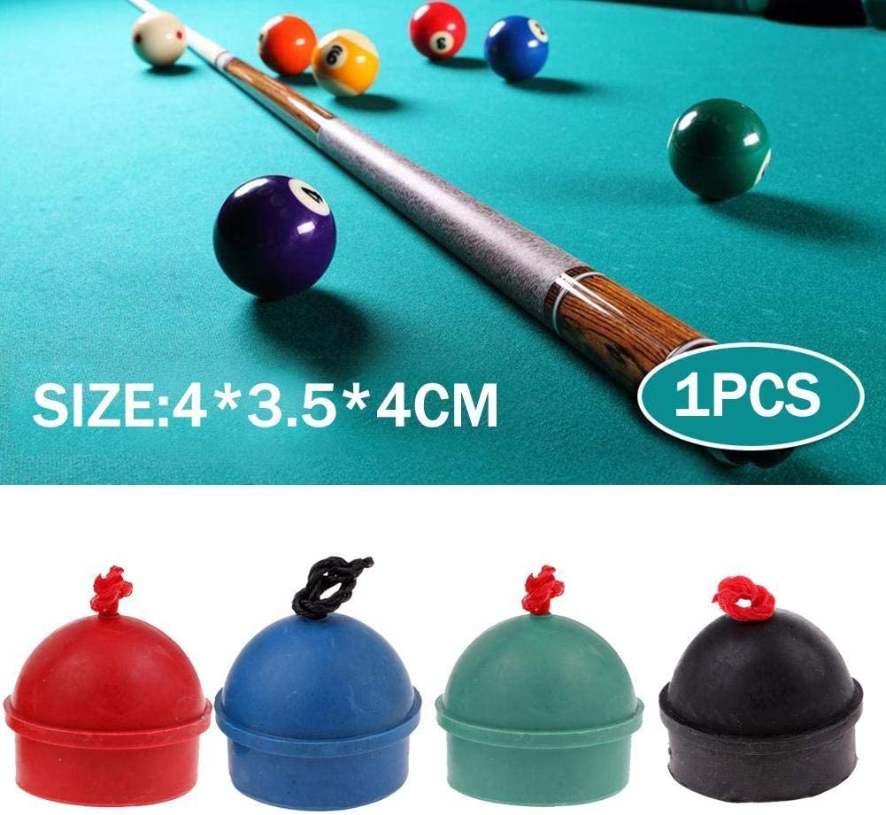 2Pcs Rubber Chalk Holder for Billiard Pool Snooker Table Cue Stick Club