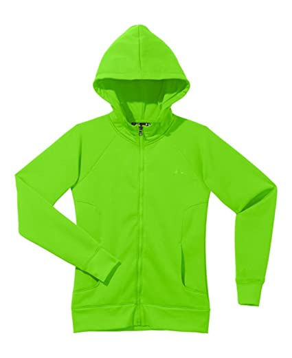 Under Armour Women s Armour® Fleece Storm Full Zip Hoodie Small HYPER GREEN fb4570a5bd