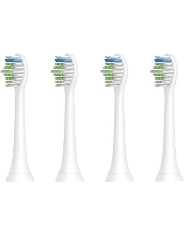 Cabezas de cepillo de dientes para Philips Sonicare, cabezas de cepillo de repuesto HX6500 HX6511