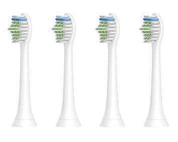 Cabezas de cepillo de dientes para Philips Sonicare, cabezas de cepillo de repuesto HX6500 HX6511 HX6530 HX9340 HX6950 HX6710 HX9140 HX6930 HX6100 HX6910 ...