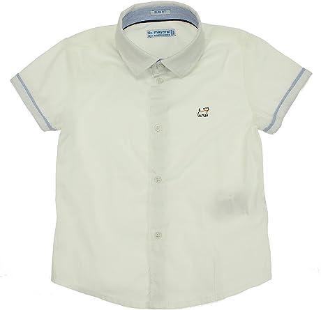 Mayoral, Camisa para bebé niño - 1154, Blanco: Amazon.es ...