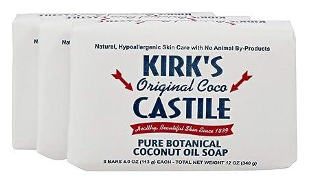 Kirks Natural Original Castile Soap, 4 Ounce — 12 per case.