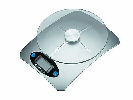 Lacor 61725 - Bascula sobremesa de cristal, 5 kg