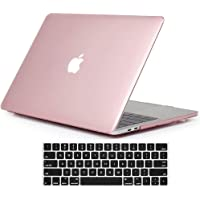 "Skyera Funda para MacBook Pro 13"" 2017/2016 con Tapa del Teclado - Slim PC Mate Laptop Cover Case para Newest Apple MacBook Pro 13 Pulgadas A1706 / A1708 (con/Sin Touch Bar, Versión 2017/2016) (Rosa)"