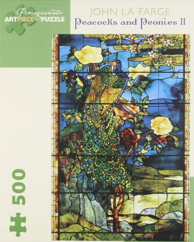 Peacocks & Peonies: 500 Piece (Pomegranate Artpiece Puzzle)