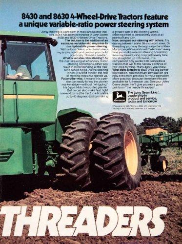 Review 1976 Ad John Deere