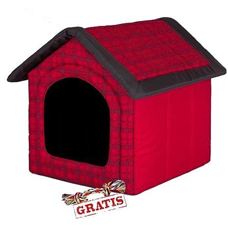 Hobbydog budcwk12 + Ball gratis para perros Gato Cueva cama para perros Perros Casa Dormir Espacio