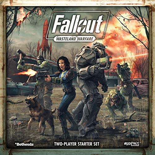 Modiphius Entertainment Fallout: Wasteland Warfare, Game