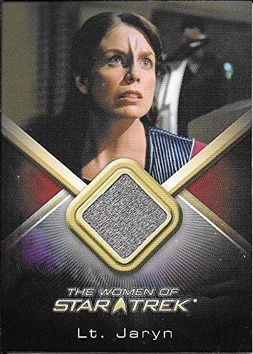 Superstar Movie Costume (2010 Women Of Star Trek #WCC26 Megan Gallagher as Lt. Jaryn Costume Relic Card)