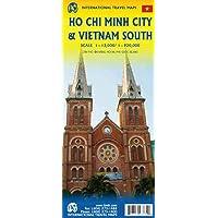 Ho Chi Minh City & Southern Vietnam Travel Reference Map 1:13K/1:920K