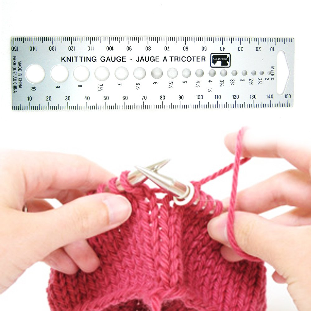Amazon new knitting gauge knit needle sizer ruler measure tool amazon new knitting gauge knit needle sizer ruler measure tool us canada size 2mm 10mm geenschuldenfo Choice Image
