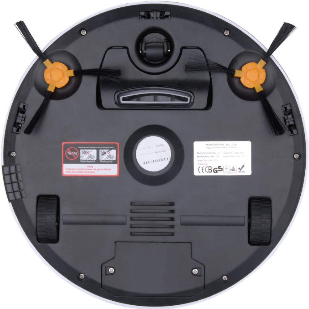 NBKLS Robot aspiradora, planificación Inteligente trapeador Robot, Extremadamente Tranquilo, Mini Limpieza automática Slim Limpieza automática aspiradora ...