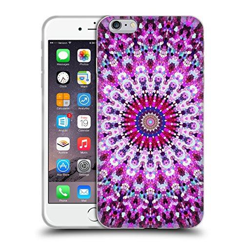 Officiel Monika Strigel Rose Arabesque Étui Coque en Gel molle pour Apple iPhone 6 Plus / 6s Plus