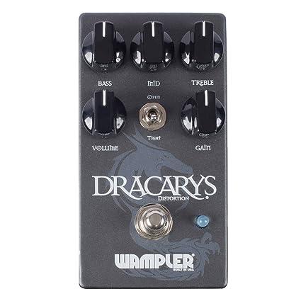 Wampler Dracarys High Gain Distortion - Pedal de efectos para guitarra eléctrica