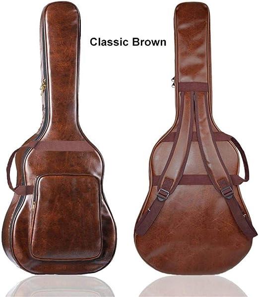 circulor Funda De Guitarra Universal, 108 X 43 CM Bolsa De Hombro ...