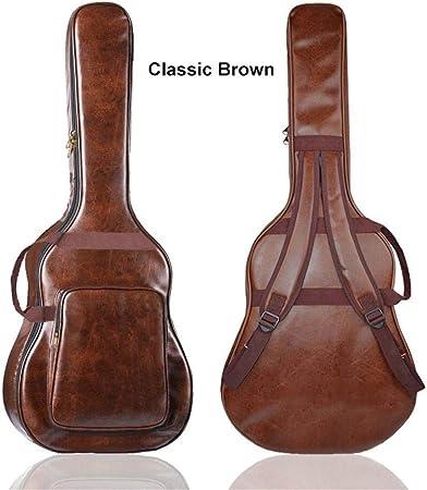 circulor Funda De Guitarra Universal, 108 X 43 CM Bolsa De Hombro Gruesa para Principiantes Mochila