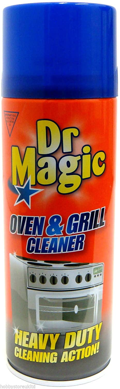 Dr Magic Oven and Grill Cleaner, Aluminum, Red, 5.5 x 5.5 x 15.7 cm 40070