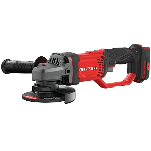 CRAFTSMAN V20 Angle Grinder, Small, 4-1/2-Inch, Tool Only (CMCG400B)