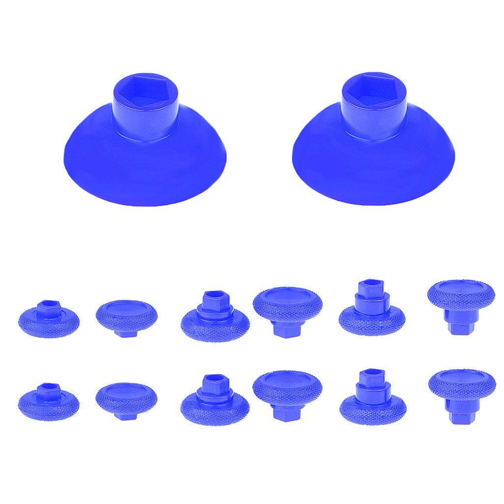 Amazon.com: MagiDeal 14 in 1 Removable Thumb Stick Grip Cap Replacement for  PS4 Xbox One Blue: Video Games