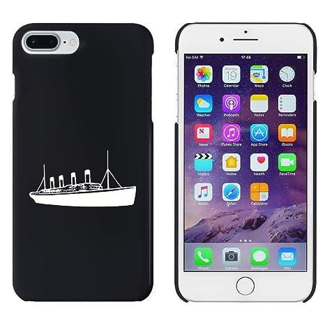 Azeeda Negro Titanic Funda / Carcasa para iPhone 7 Plus ...