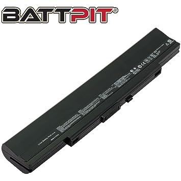 Battpit Recambio de Bateria para Ordenador Portátil Asus U33Jc-A1 (4400mah / 49wh): Amazon.es: Electrónica