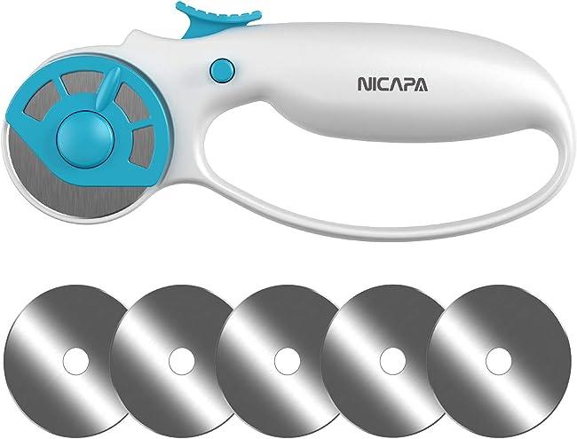 Nicapa Rotary Cutter - An Ergonomic Rotary Cutter