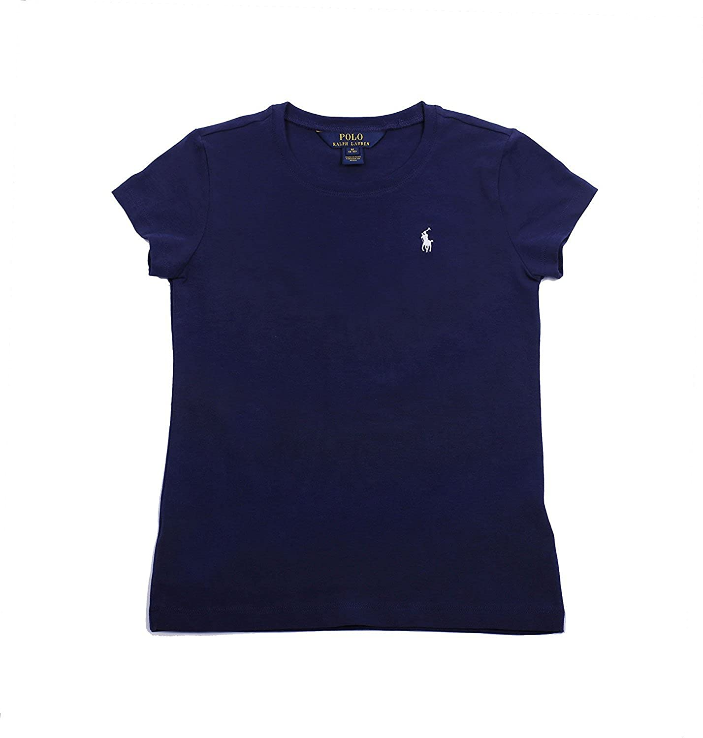 RALPH LAUREN Polo Little Girls Crewneck T-Shirt