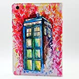 ipad mini Series CASE Doctor Who Tardis Watercolor Art Pattern Leather Flip Stand Case Cover For ipad mini 1, ipad mini 2 Retina ,ipad mini 3