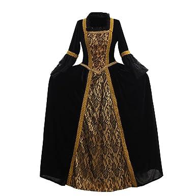 Amazon 1791s Lady Womens Medieval Renaissance Dress Gown