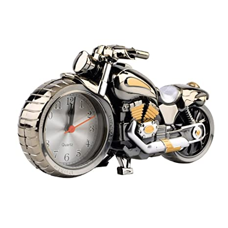 Sunnyday Creativa Calidad de la Motocicleta Reloj Moto ...