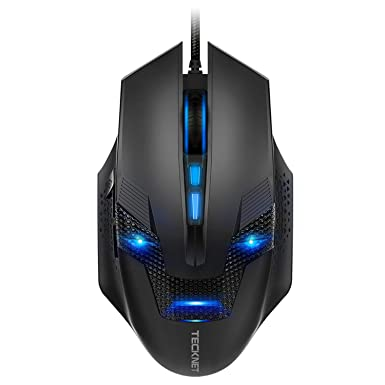 299f1318b5e TeckNet RAPTOR Pro Programmable Gaming Mouse, 8 Programmable Buttons,  7000dPI, 8 DPI Adjustment