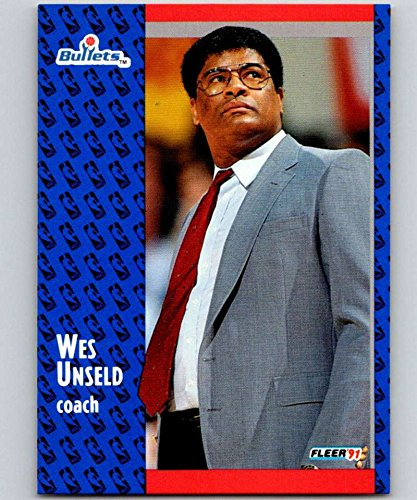 (1991-92 Fleer #209 Wes Unseld Bullets CO NBA Basketball)