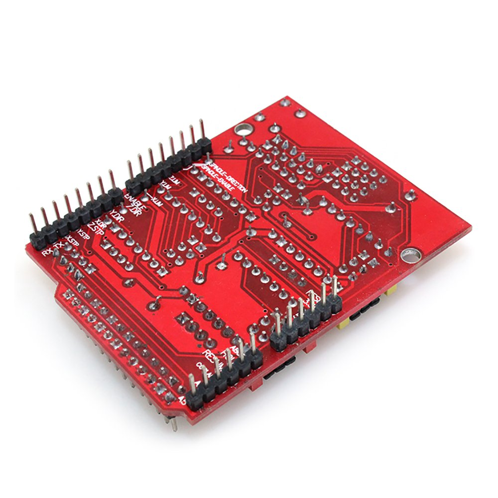 Witbot CNC Shield Expansion Board with A4988 Stepper Motor Driver with Heat Sink for Arduino V3 Engraver
