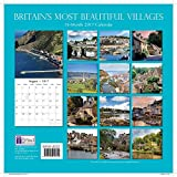 Photographs of Britain's Most Beautiful Villages 2017 Monthly Wall Calendar, 12