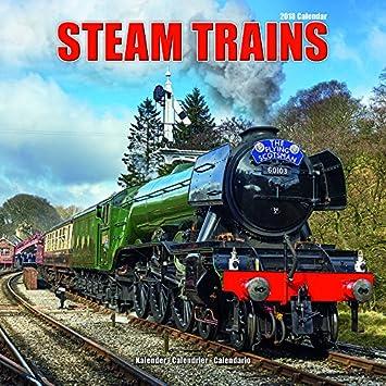 steam carte noel 2018 Calendrier 2018 Locomotive à vapeur Steam Train   Locomotives avec  steam carte noel 2018