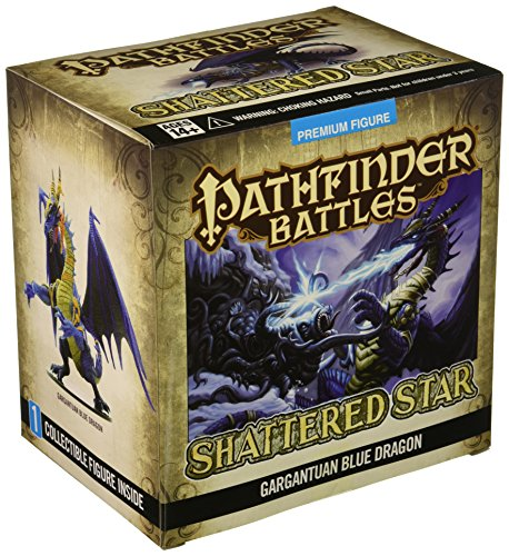 WizKids Pathfinder Battles: Shattered Star Gargantuan Blue Dragon, Dungeons and Dragons