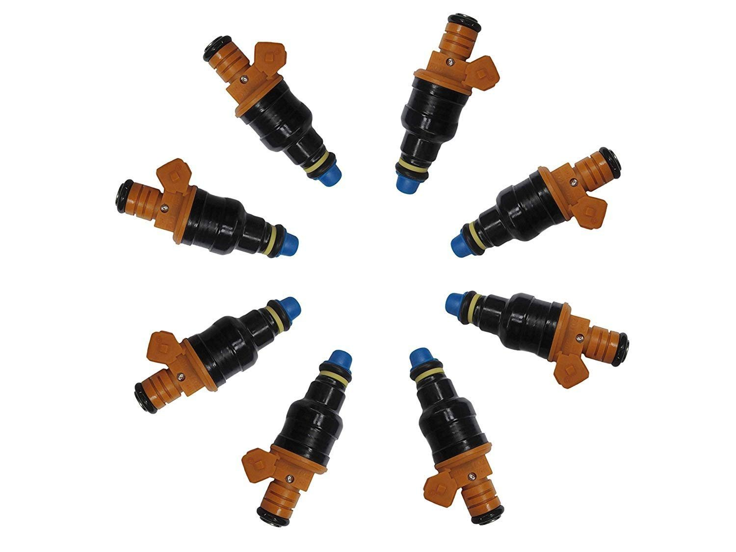 Automotive New 8x Fuel Injectors For Ford F