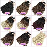 Karida Wavy Gypsy Locs Crochet Hair 12 Inch