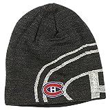 Reebok NHL Big Team Logo Winter Knit Hat / Beanie (Montreal Canadiens, gry)